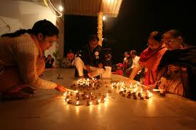 Deepawali Celebrations in India on 17th October, 2009.